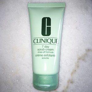 New! Clinique face scrub / skincare